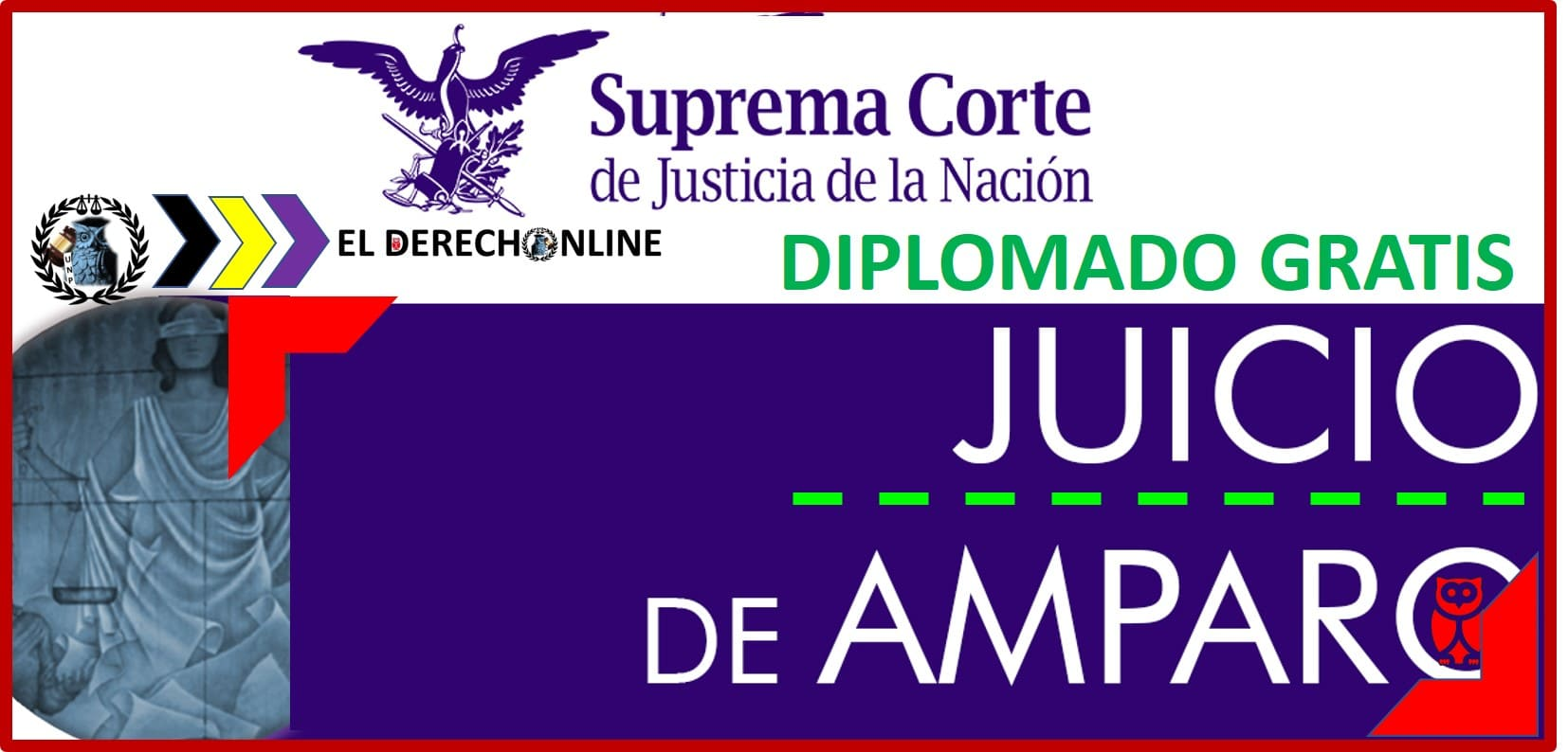 "Photo of Convocatoria sobre el Diplomado ""Juicio de Amparo"" ▷ Gratis"