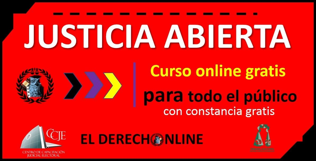 Photo of Justicia Abierta: Curso gratuito Online 2020 – TEPJF