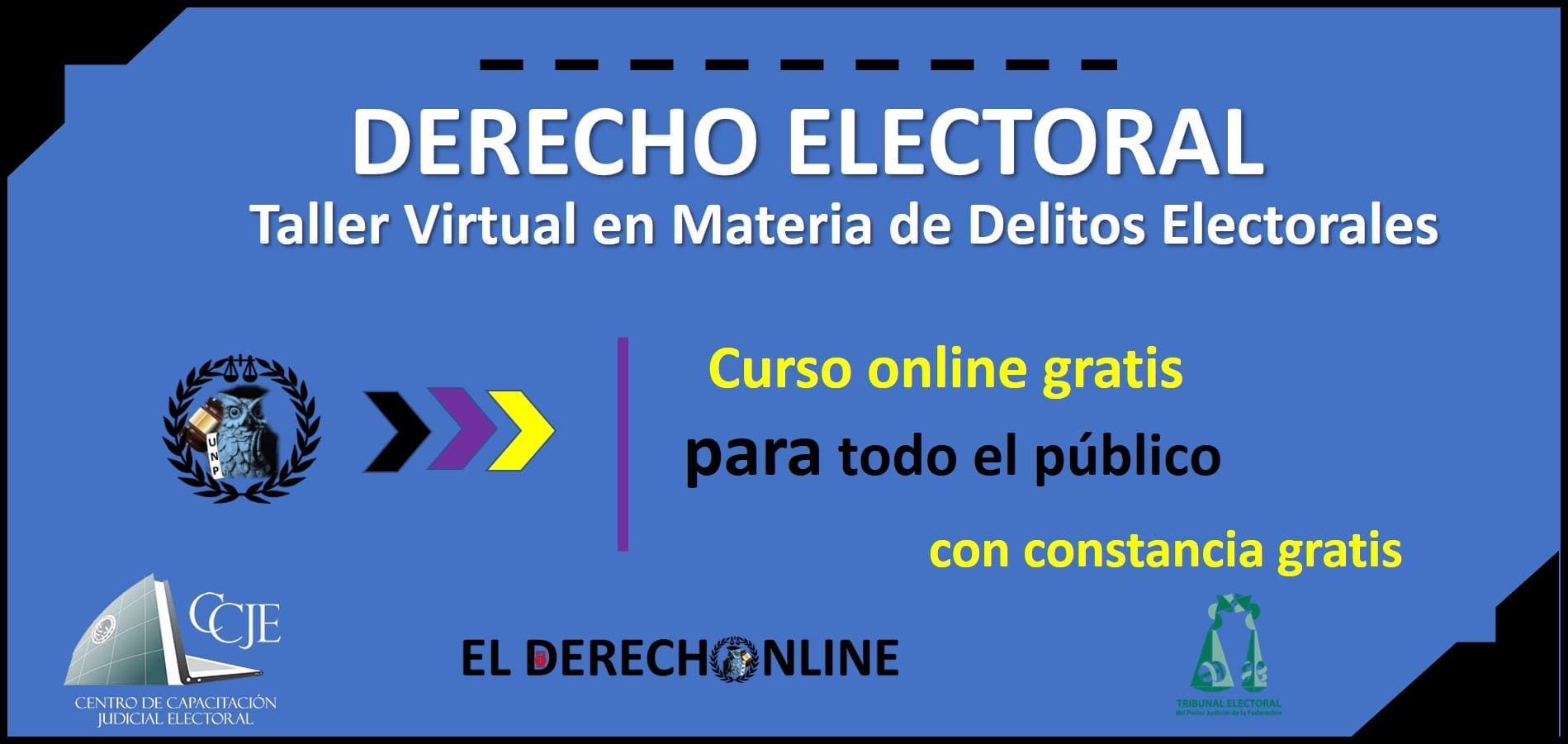 Photo of Registro: Taller Virtual en Materia de Delitos Electorales 2020-2021