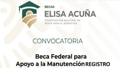Photo of Beca de Manutención 2020 – Apoyo Federal A-2 -ll
