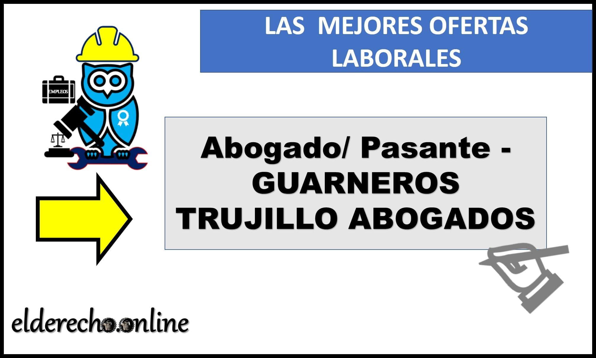 Photo of Abogado/ Pasante – GUARNEROS TRUJILLO ABOGADOS