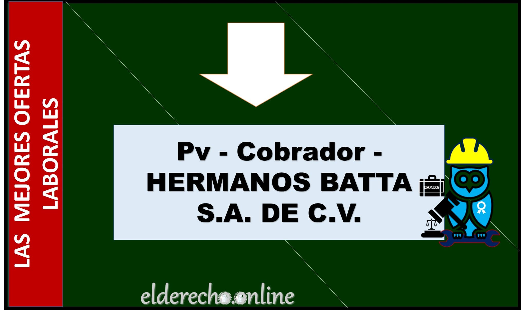 Photo of Pv – Cobrador – HERMANOS BATTA S.A. DE C.V.