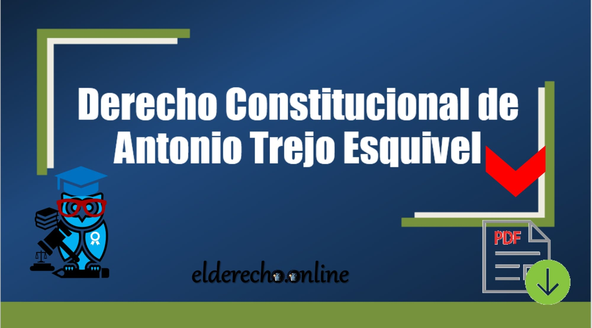 Photo of Derecho Constitucional de Antonio Trejo Esquivel