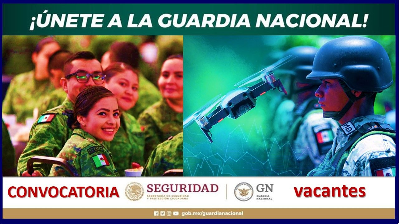 guardia nacional convocatoria 2021-2022 registro