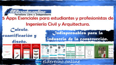 Photo of 5 Apps Esenciales para estudiantes y profesionistas de Ingeniería Civil y Arquitectura.