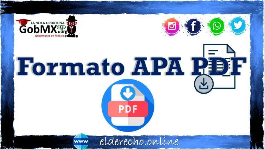 Photo of Formato APA: PDF