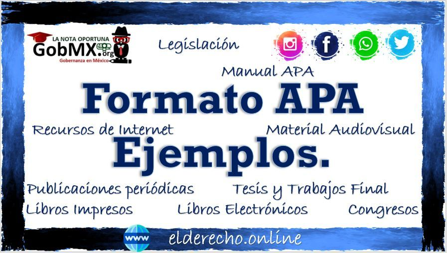 Photo of Formato APA 2021 Ejemplo
