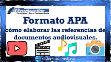 Photo of Formato APA cómo elaborar las referencias de documentos audiovisuales