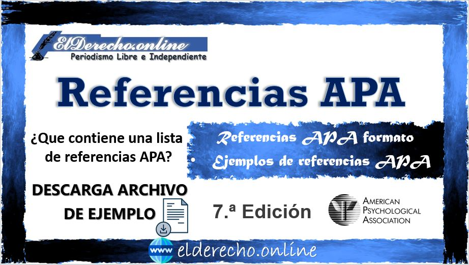 Referencias APA