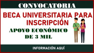 Photo of Beca Universitaria para Inscripción