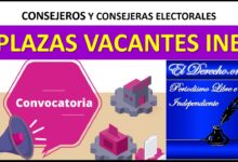 Photo of Consejeros Electorales Locales: INE Convocatoria 2020-2021 y 2023-2024