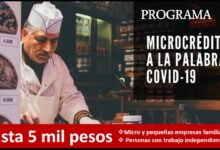 Photo of Programa microcrédito a la palabra -Hasta 5 mil pesos