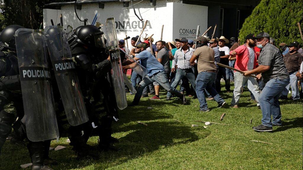 Enfrentamientos por el agua en Chihuahua