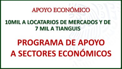 Photo of Programa de Apoyo a Sectores Económicos: (PASE)