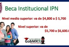 Photo of Beca Institucional IPN