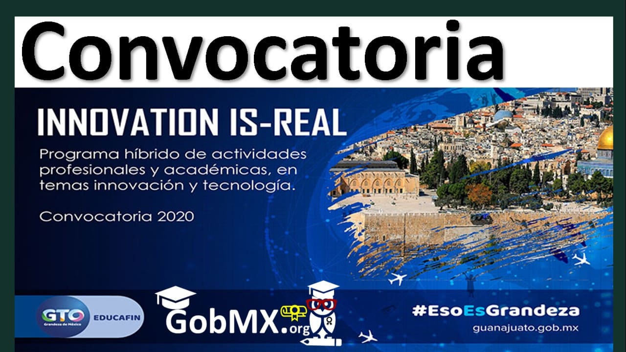 Programa Innovación Is-Real, 2020 EDUCAFIN