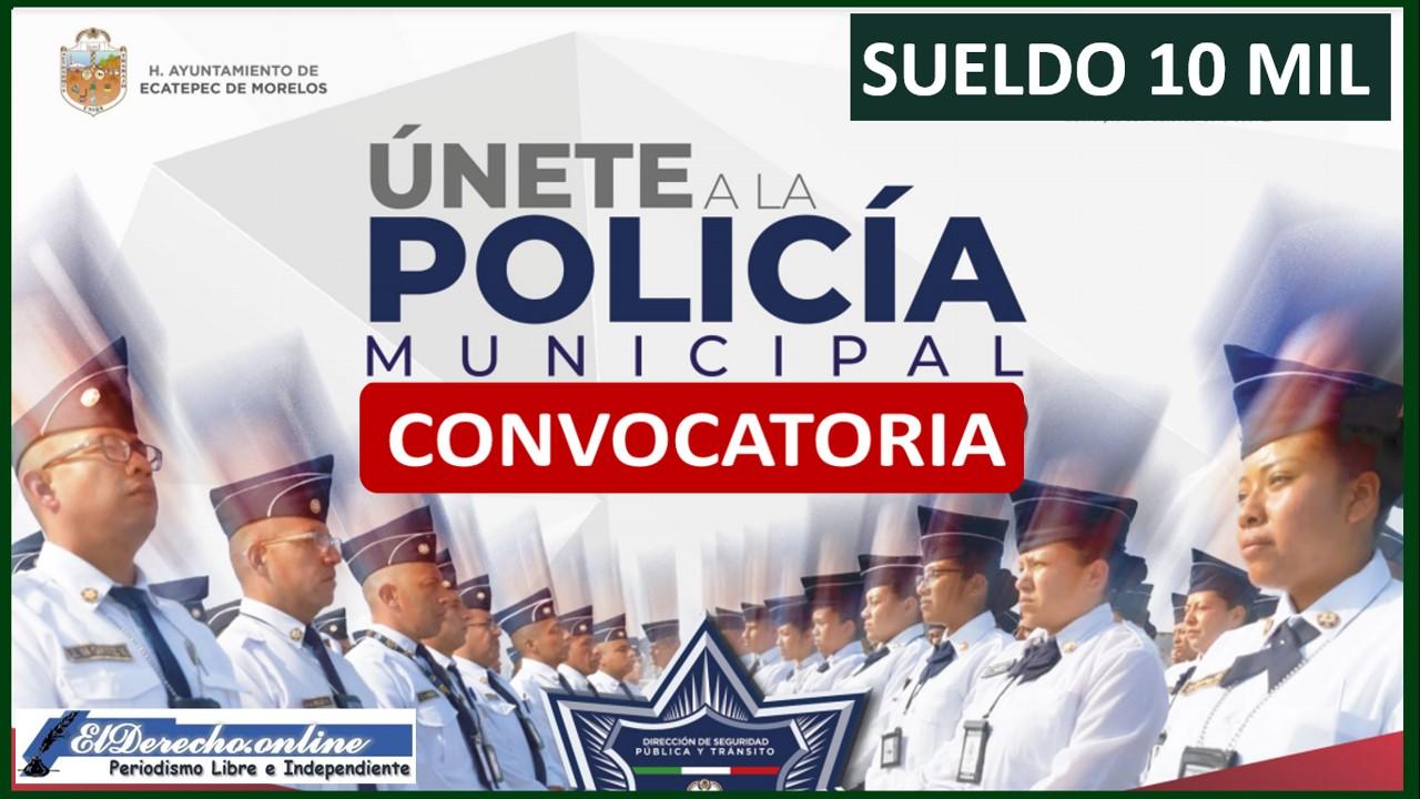 Trabaja como policía Municipal con un Sueldo de 10 pesos mensuales 2022