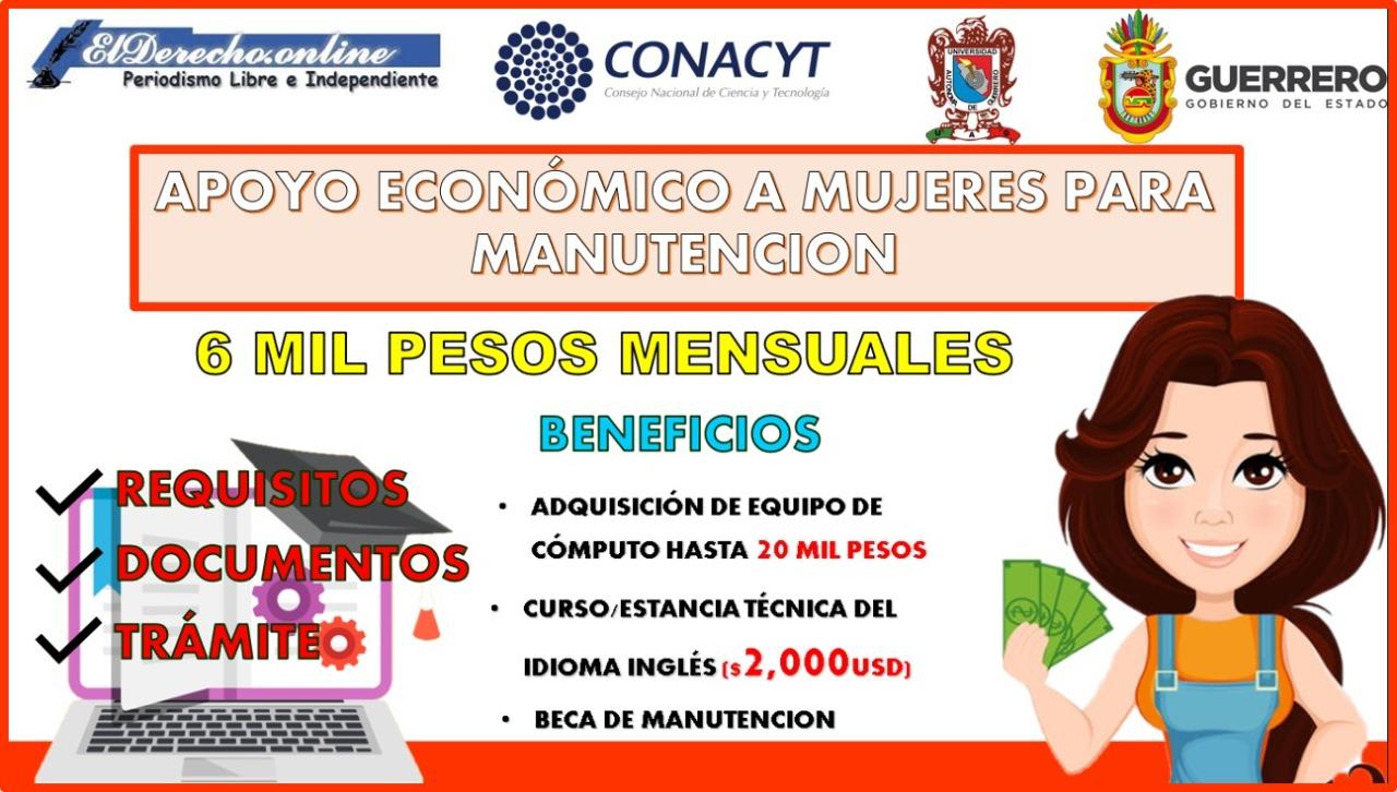 Programa de Incorporación de Mujeres Indígenas a Posgrados para el Fortalecimiento Regional 2021-2022 del Estado de Guerrero